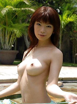 Asian in Pool Porn